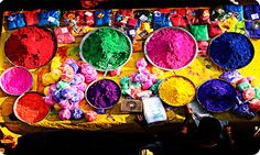 """Holi - Generally known as Festival of Colors is celebrated in the month of Phalgun Purnima i.e. on a full moon day, according to the lunar calendar which usually falls in Feburuary end or start of March. Holi festival is celebrated by Hindus across India and across the globe for the victory of good over bad. This colourful festival brings people togather, of different cast ctreed or status... People enjoy the day with colours, music, dance, sweets and """"bhang""""..!"""