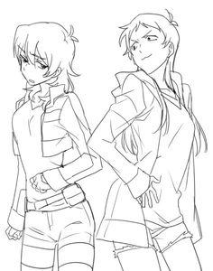 Genderbend Keith & Lance