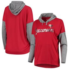 Achieve the comfiest game day look this season by picking up this Tampa Bay Buccaneers Without Limits pullover hoodie from Touch. Whether you