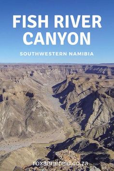 The Fish River Canyon in southwestern Namibia is one of the country's most visited attractions – and rightly so. Travel Around The World, Around The Worlds, Winter Outdoor Activities, Namibia, Slow Travel, Top Travel Destinations, Travel Activities, Africa Travel, Adventure Travel