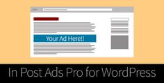 Download Free              In Post Ads Pro for WordPress            #               ad #ads #adsense #advertising #shortcode #wordpress
