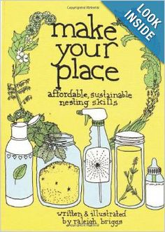Make Your Place: Affordable, Sustainable Nesting Skills (DIY): Raleigh Briggs. Safe home cleaning!