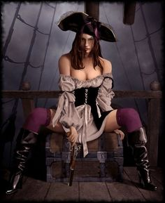 Pirates:  #Pirate wench.