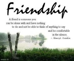 what friendship means to me