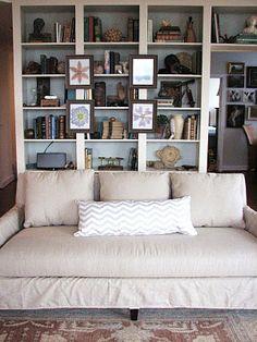 I love books. I love this wall of books.