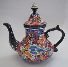Turkish Ceramic Tea Pot - Flowery Pekoe