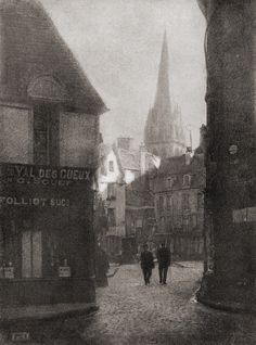 Caen(France), c1908 ~ photographer: Robert Demachy
