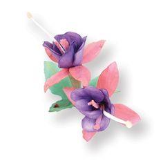 Sizzix Thinlits Die Set 9PK - Flower, Fuchsia €19,09