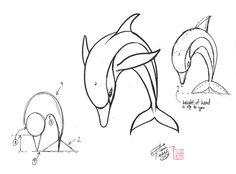 Draw a Dolphin like an artist 2 by Diana-Huang.deviantart.com on @deviantART Art Ed central loves