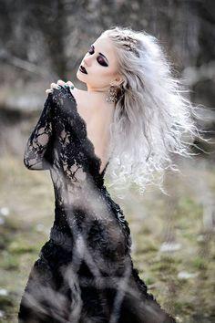 Model: SilverrrPhoto: Eelfiki photographyHair: Hair ArchitectMua: KolanowskaDress: Atelier OstaszewskaWelcome to Gothic and Amazing | www.gothicandamazing.org