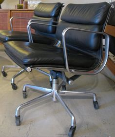 Vintage Eames Management Chairs