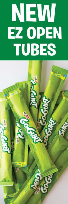 Go-GURT laser-scored tubes = this year's lunch box staple. Snack Recipes, Snacks, Types Of Food, Lunch Box, Food And Drink, Meal, How To Plan, Drinks, Fun