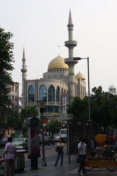 Changzhou Mosque in Jiangsu, China