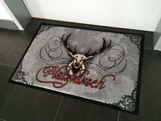 Platzhirsch-Fußmatte #fussmatte #doormat #matmaker Graphics, Pictures, Ideas