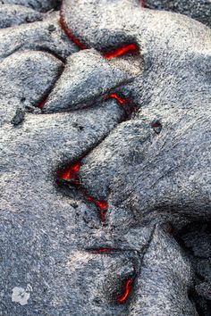 Had an up-close and personal encounter with lava on the big island