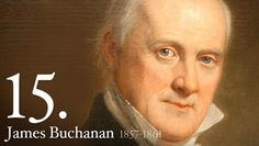 James Buchanan - Tall, stately, stiffly formal in the high stock he wore around his jowls, James Buchanan was the only President who never married.