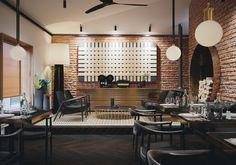 Restaurant in Riga by L-motion