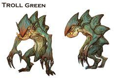[モンスター]トロールグリーン
