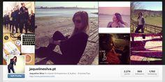 "Já te ""Instagram-aste"" hoje? - Jaqueline Silva"