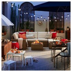 SOLLERÖN Modular corner sofa outdoor – with footstool dark gray, Frösön/Duvholmen beige – IKEA – Keep up with the times. Outdoor Seat Pads, Outdoor Cushion Covers, Outdoor Cushions, Outdoor Sofa, Outdoor Spaces, Outdoor Furniture Sets, Outdoor Decor, Outdoor Sectionals, Chair Cushions