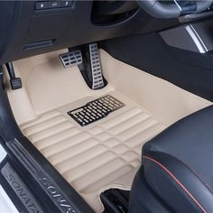 86.66$  Watch now - http://ali4pp.shopchina.info/1/go.php?t=32815007898 - Car Floor Mats Covers top grade anti-scratch fire resistant durable waterproof 5D leather mat For Hyundai Sonata Car-Styling  #magazineonline