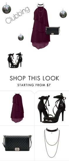 """""""Clubbing"""" by hammiegrl on Polyvore featuring Schutz and Chanel"""
