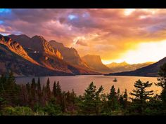 Glacier Lake National Park, Montana