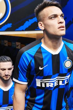 Inter Milan Home Jersey by Nike Milan Football, Nike Football, Soccer Jerseys, Camisa Nike, Inter Sport, Nike World, Sew On Badges, World Soccer Shop, Fifa 20