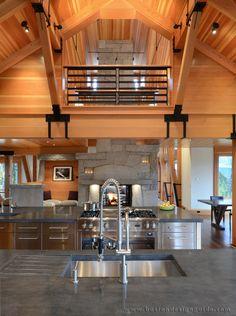 Vermont Mountain House. Architecture by Marcus Gleysteen Architects