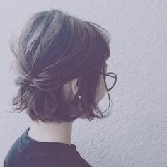 When your hair looks great, your whole life gets a lift. Good hair tells other people that you are put together. Great hair attracts attention in all areas of life; Cute Bob Hairstyles, 2015 Hairstyles, Short Hairstyles For Women, Wedding Hairstyles, Choppy Haircuts, Hairstyle Ideas, Hairstyle Short, Medium Hairstyles, Wedge Hairstyles