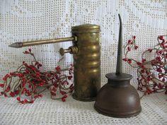 Vintage Oil Cans  Man Den Man Cave Industrial by KeepsakeDesigns, $6.99