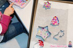 Nos bricolages de Noël #1 : Les décos à suspendre en perles Hama (fondues) [DIY]