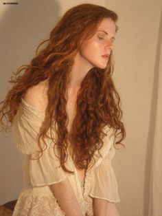 long red hair                                                                                                                                                                                 More