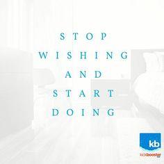 It's #Monday. Get to #work. #kickbooster #getkickbooster #kickboostr #kickstarter #crowdfunding #indiegogo #entrepreneur #entrepreneurs #business #success #inspire #inspiredaily #work #grind #hustle #startup #startuplife #passion #desire #motivation #community #marketing #quoteoftheday #quotable