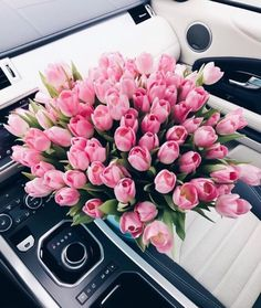 A pic of adorable pink tulip flowers in a big bouquet! Luxury Flowers, My Flower, Beautiful Flowers, Flower Aesthetic, Pink Aesthetic, Bloom Baby, Do It Yourself Fashion, Pink Tulips, Gras