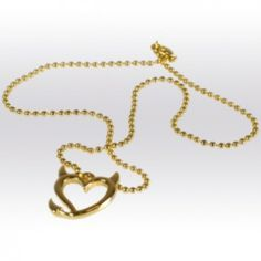 Bad Girls Club Devil Heart Necklace