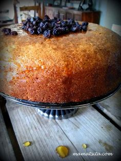 Greek Desserts, Greek Recipes, Greek Cake, Cyprus Food, Pastry Cook, Pita Bread, Easy Cake Recipes, Appetisers, Macaroni And Cheese