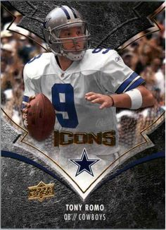 ffeb345dbfb Beckett provides you latest pricing on 2008 Upper Deck Icons Tony Romo