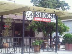"Shoki Ramen House: Takes ""Top Ramen"" to a whole different level. Yum!"