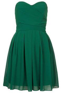 **Boobtube Chiffon Dress by TFNC - Dresses  - Clothing