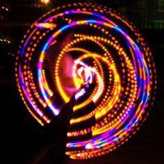 "36"" Starfish Strobe LED Hula Hoop. $85.00, via Etsy."