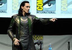 Tom Hiddleston aka Loki
