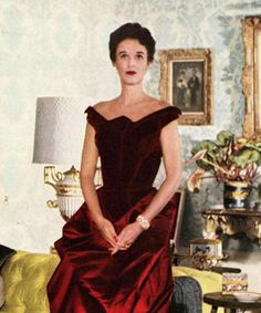 Now You Know: Charles James's Designs - Babe Paley, 1950 from #InStyle