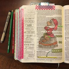 "Don't be Grumpy. ""Do all things without grumbling or disputing;"" Phil 2:14, NASB #illustratedfaithdaily2016 #bibleartjournaling #myinspirebible"