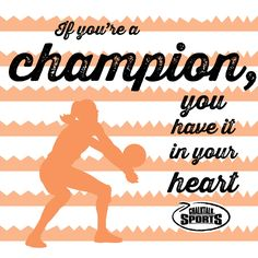 Play with the heart of a champion!