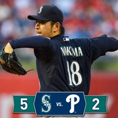 Kuma leads the way as the #Mariners top the #Phillies. 8/19/14