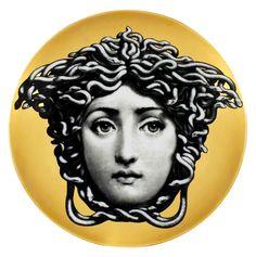 Fornasetti Medusa Plate