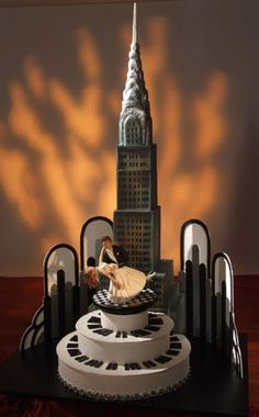 In the City themed party cake inspiration