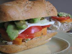 Sweet Potato and Avocado Sandwich | PETA.org