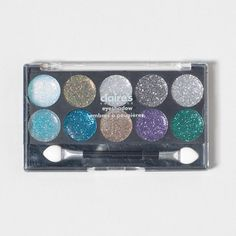 Make your eyes sparkle all night with this Glitterama Eye Shadow Palette  mmm want this!